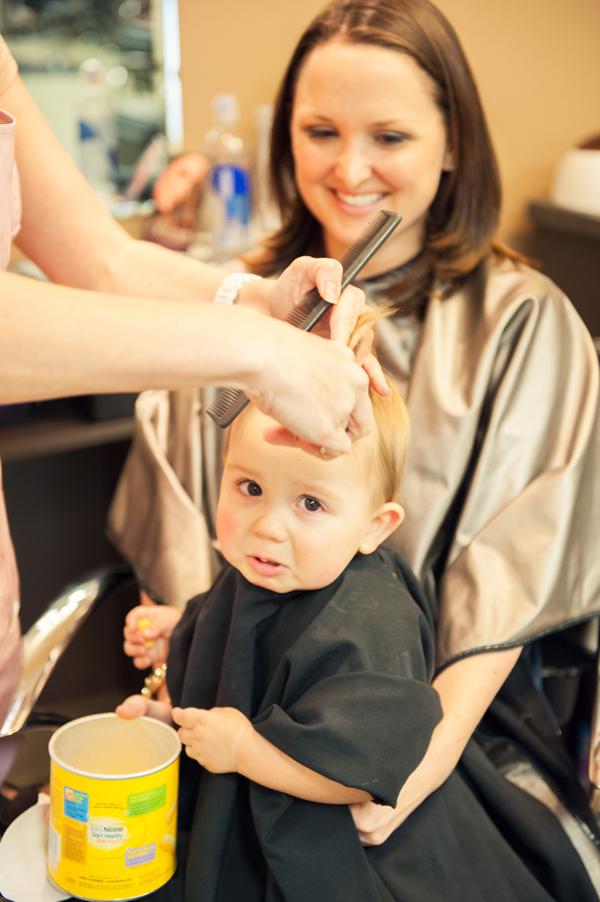 Kais First Haircut Tulsa Shots